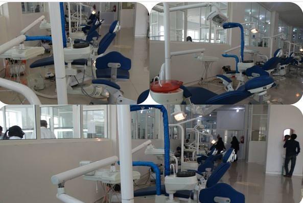 الجامعة الإماراتية الدولية بصنعاء تعزز معامل كلية الأسنان بأجهزة حديثة