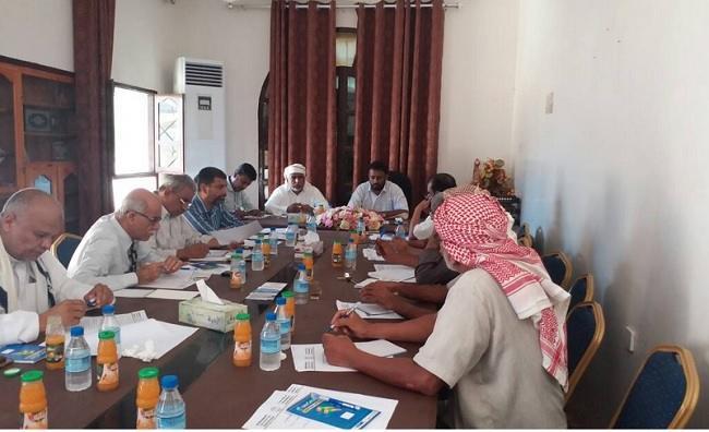 رئاسة مؤتمر حضرموت الجامع تناقش آليات تنفيذ قرارات دورته الثالثة