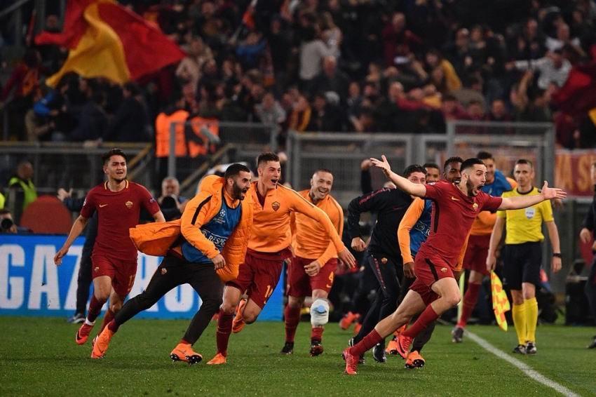 روما يقصي برشلونة من دوري أبطال أوروبا.. ملخص المباراة فيديو