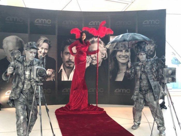 بالفيديو والصور.. افتتاح أول دار عرض سينما في السعودية
