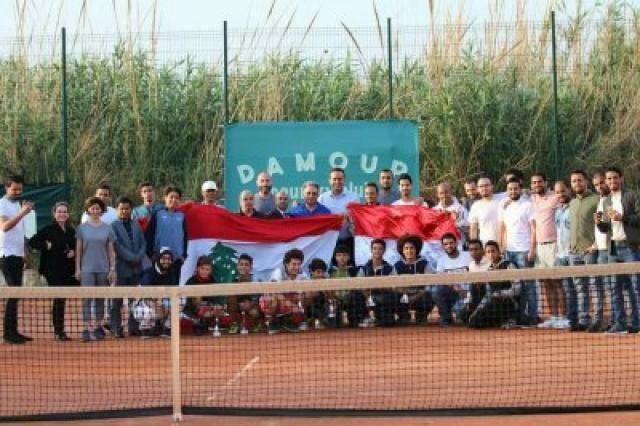 المنتخب اليمني للتنس يحقق وصافة بطولة آسيا الدولية في بيروت