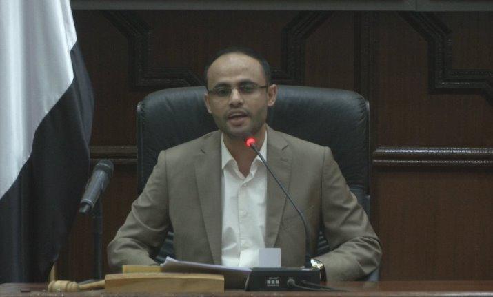 """مهدي المشاط يؤدي """"اليمين الدستورية"""" خلفاً للصماد بالمجلس السياسي"""