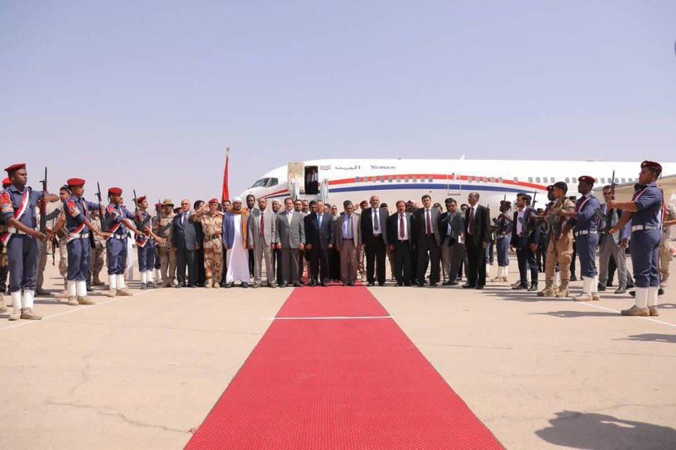 حكومة بن دغر تجتمع في سيئون بحضور محافظي شبوة وحضرموت والمهرة