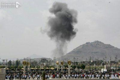 غارتان للتحالف قرب ميدان السبعين بالتزامن مع جنازة الصماد (إعلام الحوثيين)