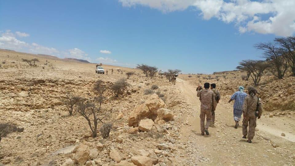 ناطق المنطقة الثانية: استكمال عملية الجبال السود بالانتشار غرب حضرموت