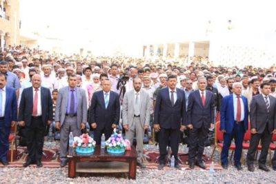 حكومة بن دغر في سقطرى بحضور مسؤولين