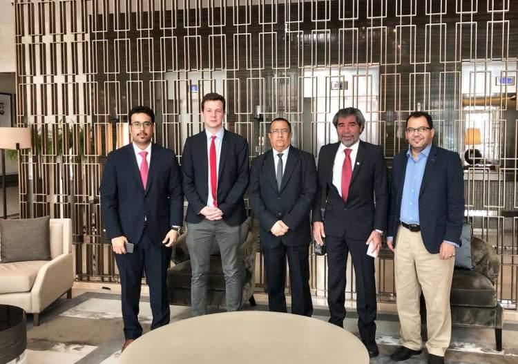 قيادات في المجلس الانتقالي تلتقي مسؤولين في مكتب المبعوث الأممي