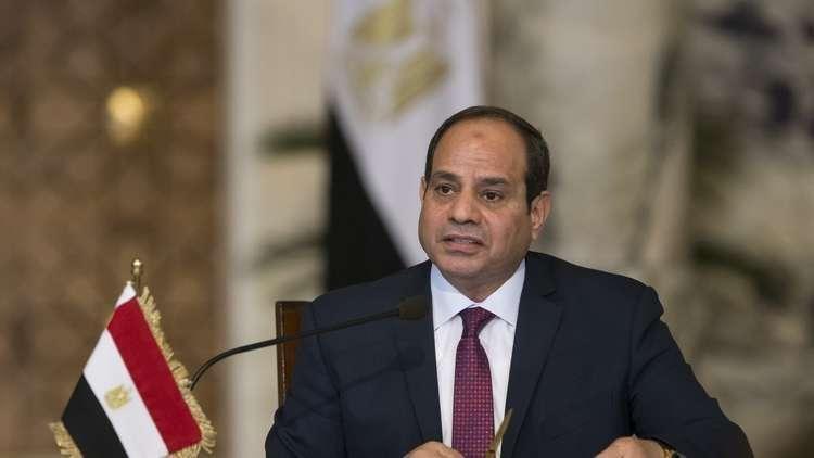 الرئيس المصري يعلق على إصابة النجم محمد صلاح