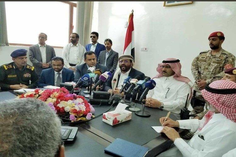السفير السعودي يزور مأرب ويعلن عن مشاريع منها إنشاء مطار إقليمي.. صور
