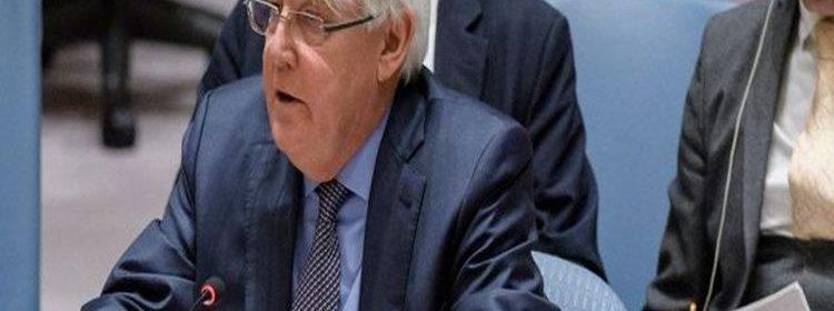المبعوث الأممي إلى اليمن غريفيث
