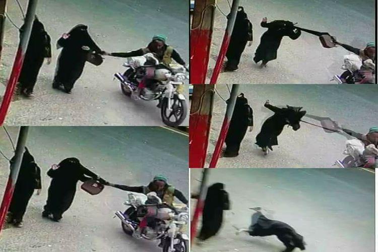 القبض على لص حقيبة المرأة في صنعاء وهوية المتهم