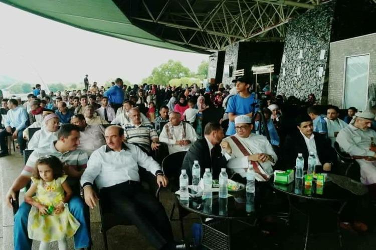الجالية اليمنية في ماليزيا تحتفل بعيد الفطر المبارك