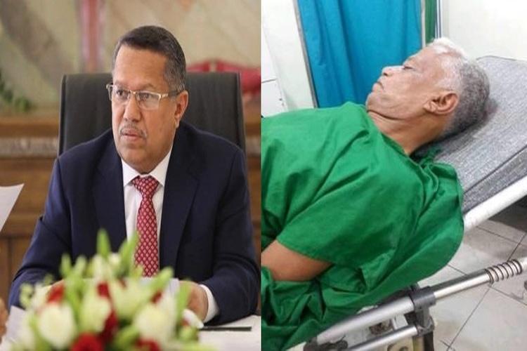 بن دغر يوجه بعلاج التربوي عبدالله القباطي على نفقة الدولة