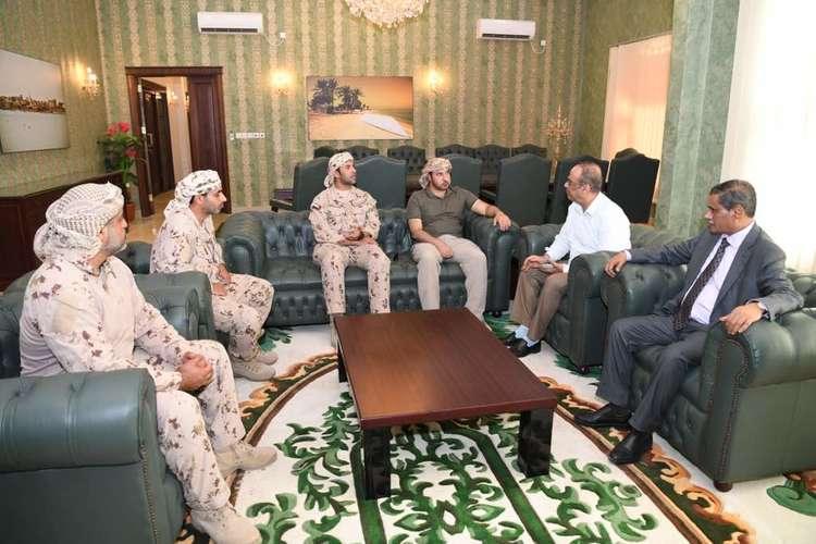 محافظ حضرموت يرد على أنباء مناقشة دمج النخبة الحضرمية بقوات وزارة الداخلية
