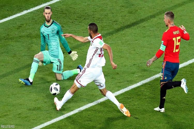 كأس العالم: المغرب يحرج إسبانيا وإيران تعادل البرتغال.. فيديو