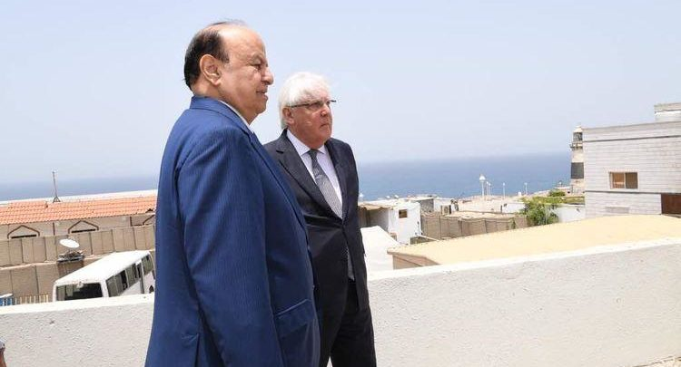 المبعوث الأممي إلى اليمن يقول إنه سيزور الرياض وعدن قريباً