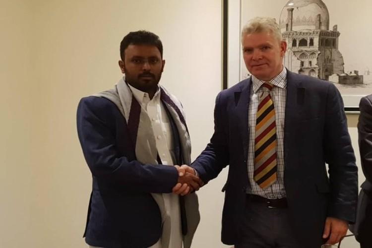 وكيل محافظة حضرموت يلتقي القائم بأعمال السفير البريطاني لدى اليمن