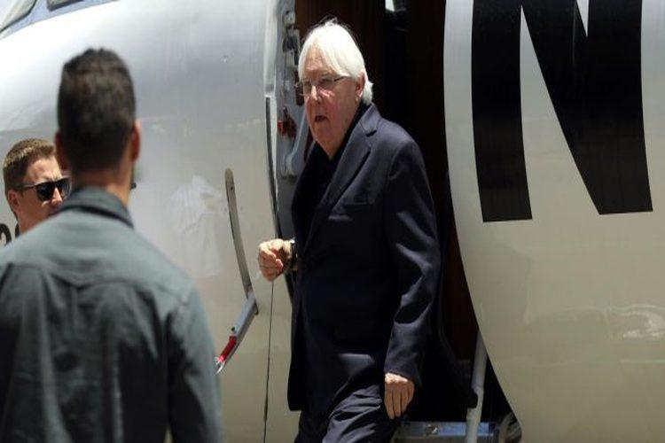 المبعوث الأممي إلى اليمن مارتن غريفيث يصل العاصمة اليمنية صنعاء