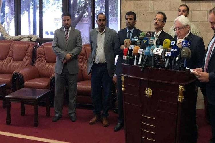 المبعوث الأممي لدى مغادرة صنعاء: رسائل إيجابية تلقيتها وممتن لعبدالملك الحوثي
