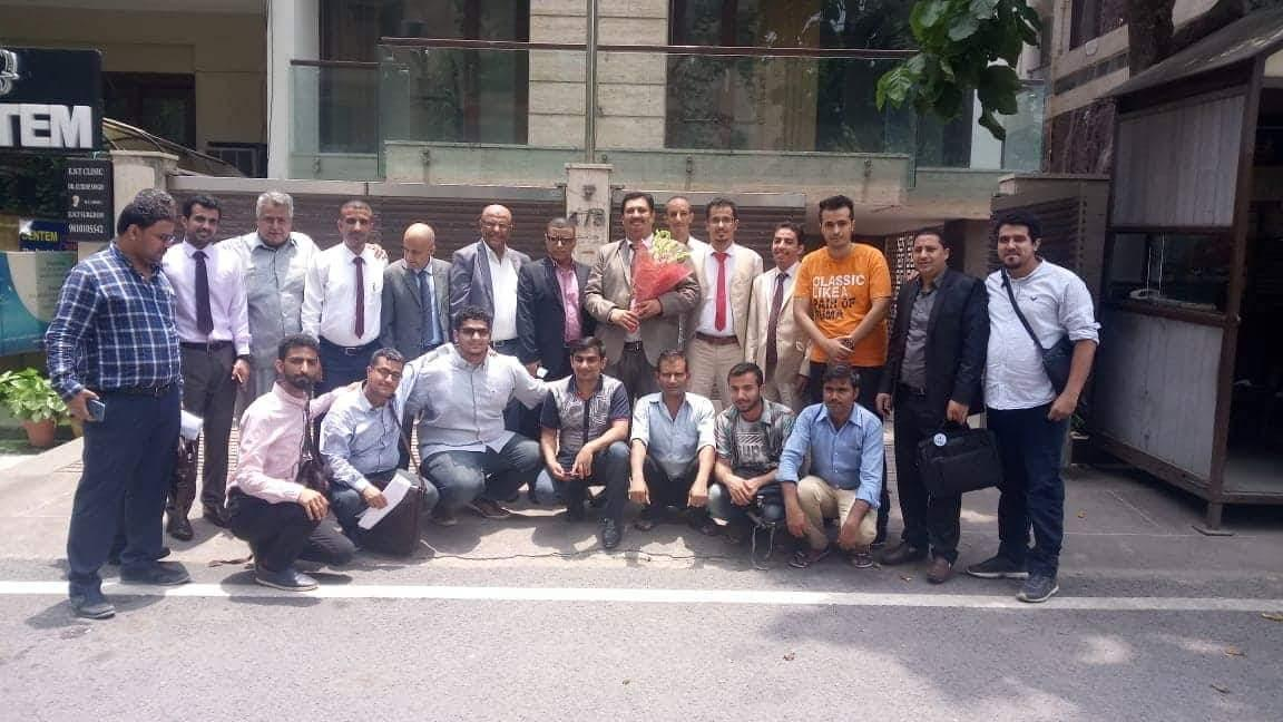 وكيل التعليم العالي الجفري يعقد لقاءً مع عدد من الباحثين اليمنيين في الهند