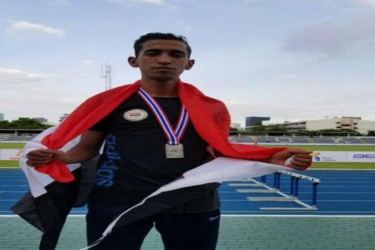 لاعب المنتخب الوطني جميل الحماطي يتأهل لدورة الألعاب الأولمبية للشباب