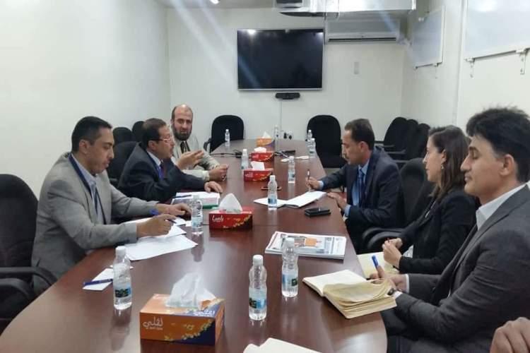 الغرفة التجارية في صنعاء تبحث التعاون مع اليونيسف بتنفيذ برامج الطفولة