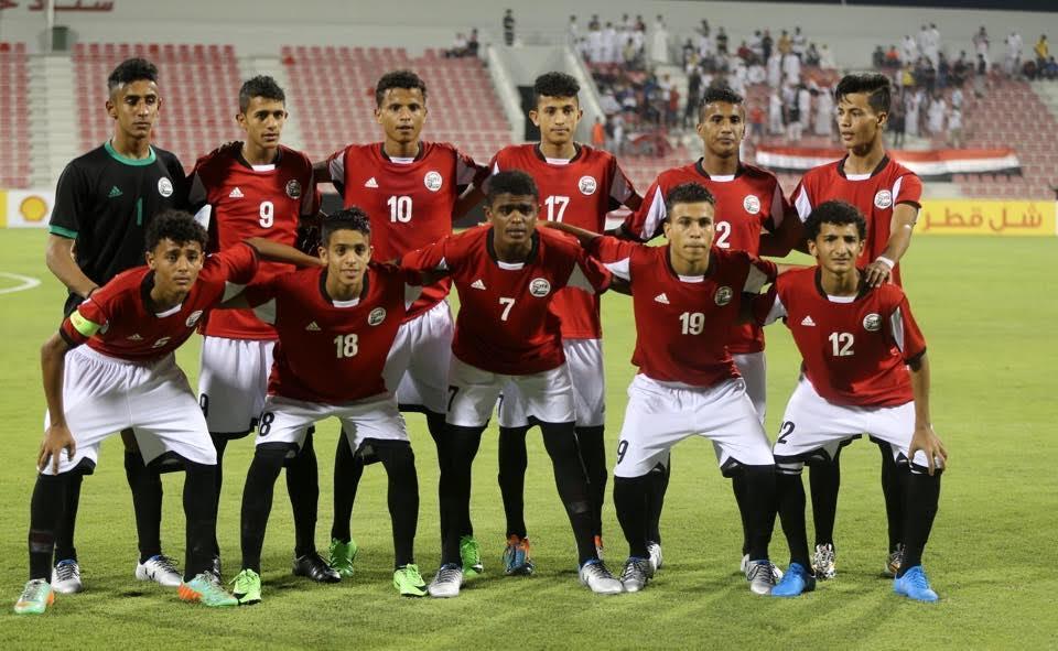 المنتخب اليمني للناشئين يبدأ معسكره الداخلي في المكلا