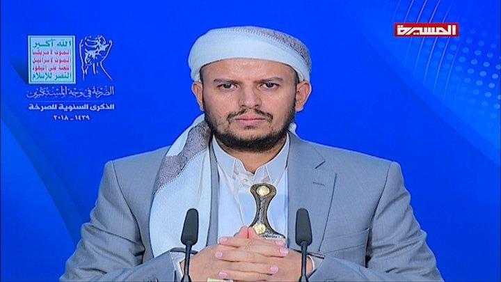 عبدالملك الحوثي: وفدنا طالب بالانتقال عبر طيران دولة محايدة إلى مشاورات جنيف