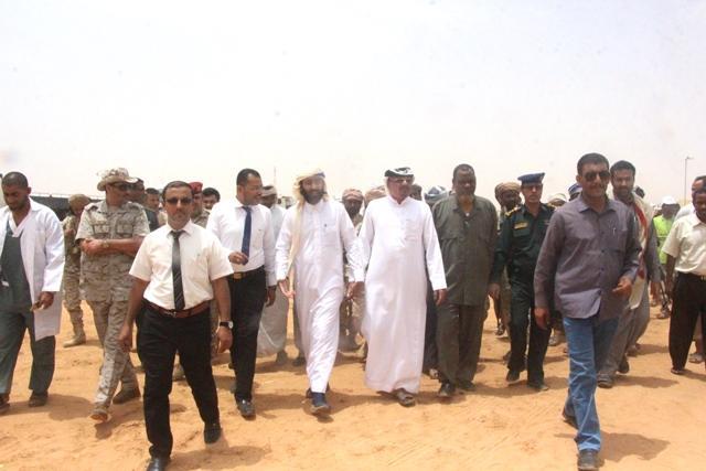 تدشين تفويج الحجاج اليمنيين عبر ميناء الوديعة البري في حضرموت