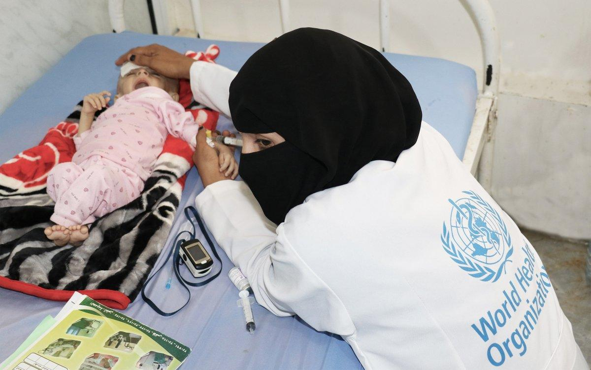 الصحة العالمية: حملة التحصين ضد الكوليرا في الحديدة تنجح رغم التحديات