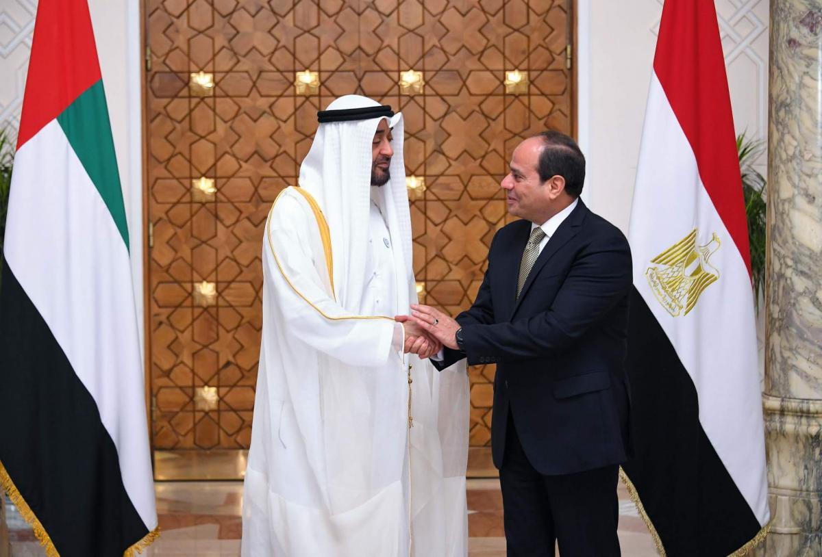 اجتماع السيسي وبن زايد: مصر والإمارات نرفضان التدخل بشؤون الدول الداخلية