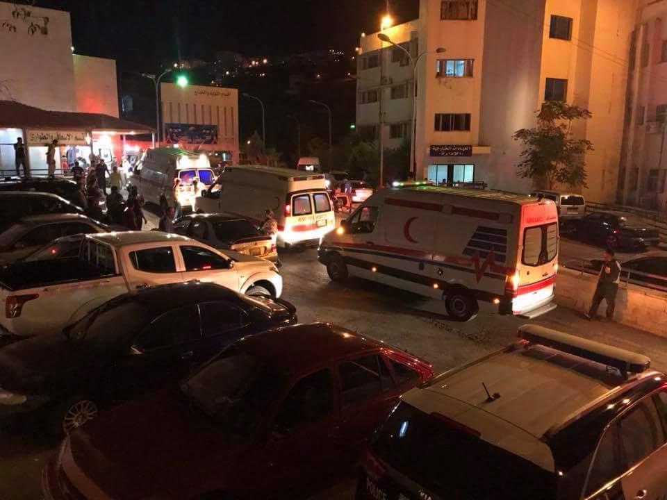 بالفيديو.. إرهابيون يفجرون مبنى في السلط والأمن الأردني ينفذ مداهمة