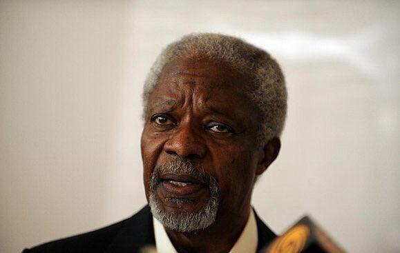 وفاة الأمين العام الأسبق للأمم المتحدة كوفي عنان 80 عاماً