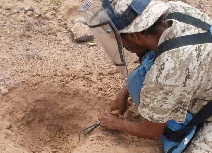 حضرموت: تفكيك أكثر من ألفي عبوة ناسفة وألغام زرعها القاعدة في وادي المسيني