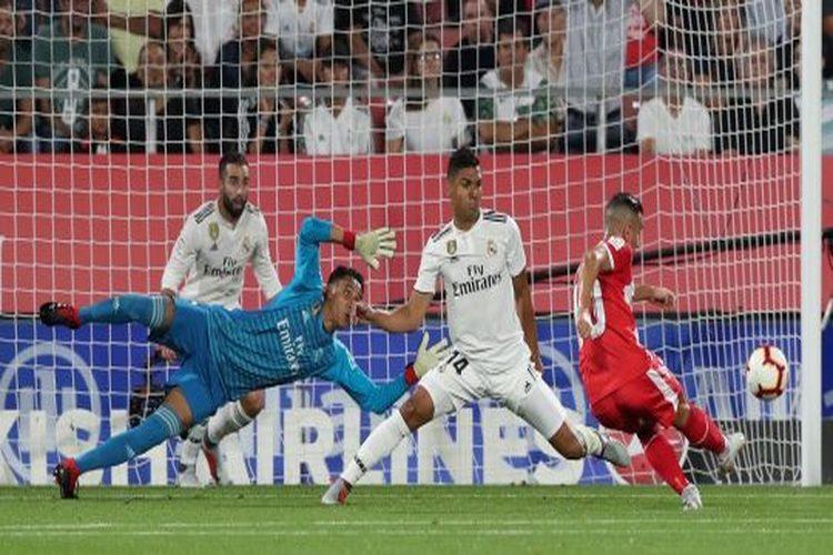 الدوري الإسباني: لاعب جيرونا يراوغ لاعبي ريال مدريد ويُسجل هدفاً رائعاً.. فيديو