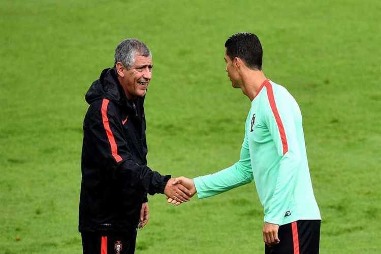 مدرب البرتغال يكشف سبب استبعاد كريستيانو رونالدو