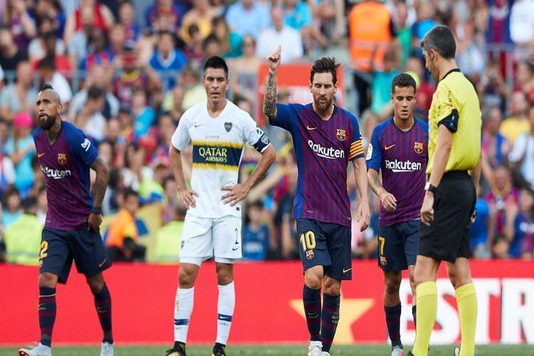 برشلونة يوافق على اللعب في الولايات المتحدة الأمريكية