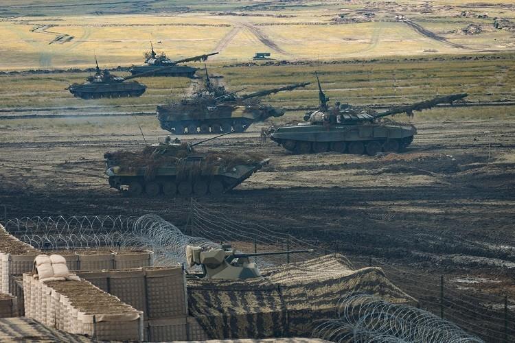 جانب من أكبر مناورة عسكرية في تاريخ روسيا: الشرق 2018