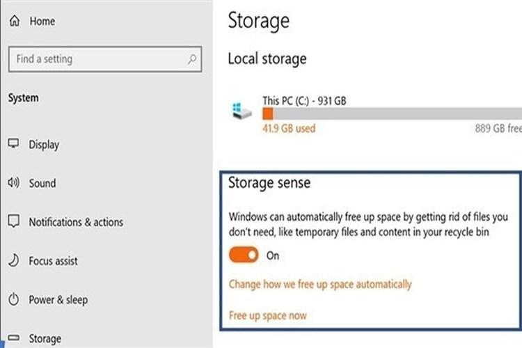 أداة جديدة لتنظيف البيانات في تحديث ويندوز 10 لشهر أكتوبر