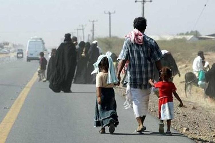 الأمم المتحدة تعلن نزوح أكثر من 76 ألف أسرة من الحديدة