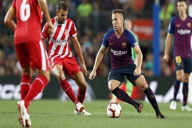جيرونا يقطع سلسلة انتصارات برشلونة في الدوري الإسباني.. فيديو
