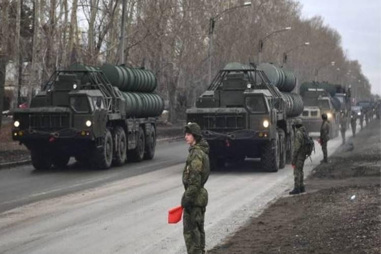 روسيا تعلن تزويد سوريا بنظام الدفاع الجوي إس-300