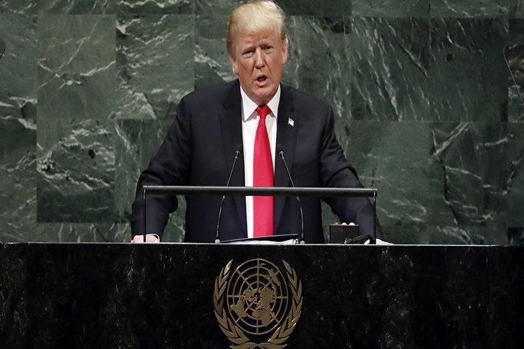 قاعة الجمعية العامة للأمم المتحدة تنفجر ضاحكة عند بدء ترامب خطابه.. فيديو