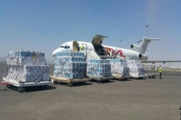 وصول طائرة تابعة لليونيسف تحمل لقاحات إلى مطار صنعاء الدولي