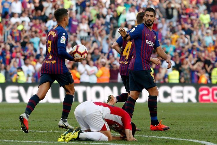 الدوري الإسباني: برشلونة يواصل إهدار النقاط بتعادل مع أتلتيك بلباو.. فيديو