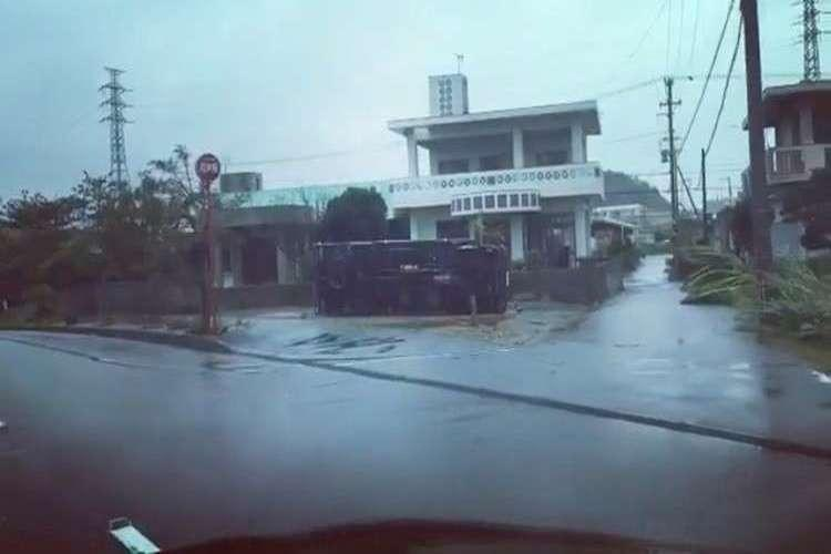 اليابان: مقتل شخصين وإصابة 120 بإعصار ترامي