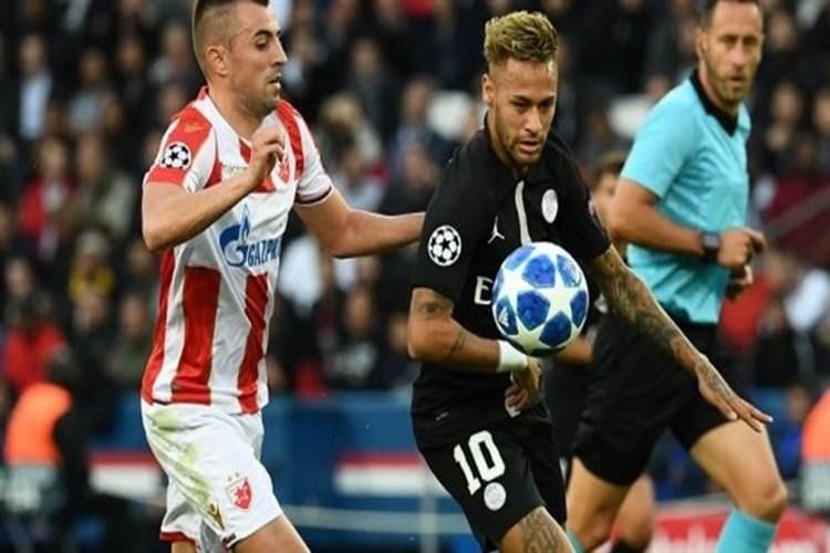 تحقيق حول مزاعم تلاعب في مباراة سان جرمان والنجم الأحمر في أبطال أوروبا