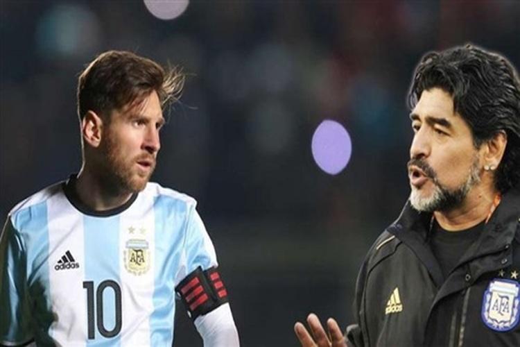 مارادونا: ميسي ليس قائداً للأرجنتين