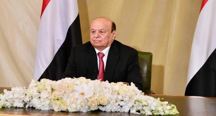 نص كلمة الرئيس هادي في الذكرى الثلاثين لإعادة الوحدة اليمنية