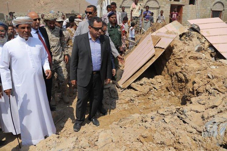 معين عبدالملك: أضرار إعصار لُبان في المهرة كارثية وهذا ما خلفته